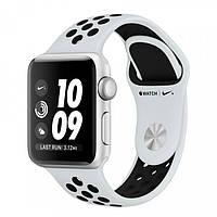 Apple Watch Nike+ Series 3 (GPS) 38mm Silver Aluminum w. Pure Platinum/Black Sport B. (MQKX2)