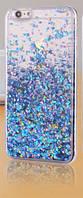 Чехол Liquid Glitter Series5 IPHONE 7/8 (Blue), фото 1