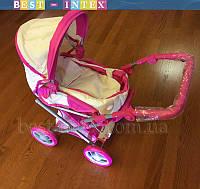 Коляска 9346 MELOGO NEW!!! БЕЖЕВЫЙ  для куклы