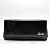 Женский кошелек BАLISА черного цвета с девушкой WPP-054358, фото 1