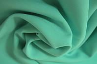 Костюмная ткань креп Барби Мята