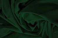 Костюмная ткань креп Барби темно-зеленая