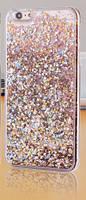 Чехол Liquid Glitter Series5 IPHONE 7/8 (Gold), фото 1