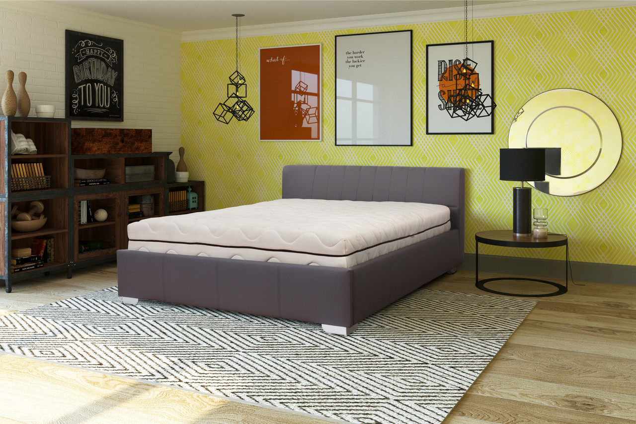 Мягкая кровать Ромо с подъемным механизмом