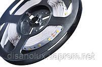 Светодиодная  LED лента  2835 60led/m 4,8W/m  белый теплый 12V  IP20   5м PREMIUM, фото 2