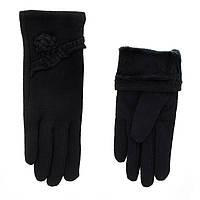 Перчатки женские кожаные 9615 BJQ ПЖМ шер