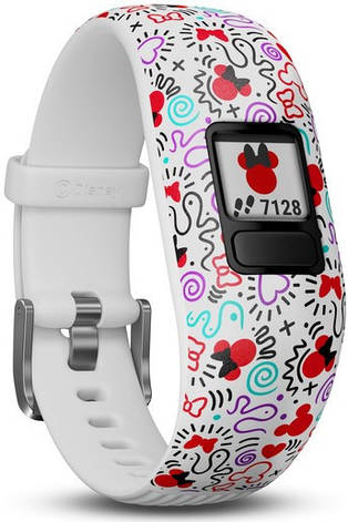 Фітнес-браслет Garmin Vivofit JR 2 Disney Minnie Mouse Adjustable Band, фото 2
