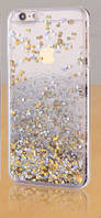 Чехол Liquid Glitter Series5 IPHONE 7/8 (Yellow), фото 1
