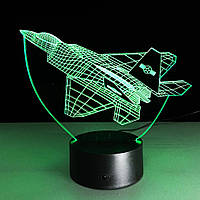 Сменная пластина на 3D светильник Истребитель