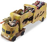 Трейлер автовоз грузовик хот вилс Грут стражи галактики (Hot Wheels Marvel Comics Groot Hauler Vehicle), Mattel