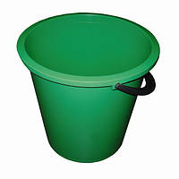 Ведро круглое цветное ассорти 10 литров BuroClean (10300602)