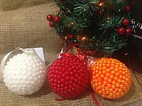 Новогодний шар ручной работы