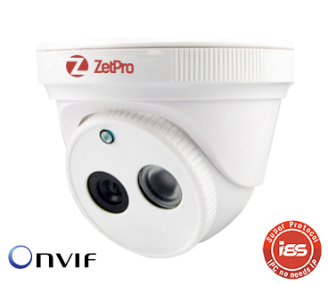 IP камера 1.3 mp ZetPro ZIP-1B02B-0103PA