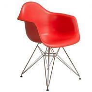Кресло Тауэр, пластиковое, цвет красный