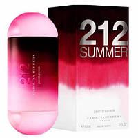 CAROLINA HERRERA Carolina Herrera 212 Summer Limited Edition EDT 100 мл (Турция)