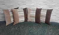 Подушки декоративные в стиле пэчворк