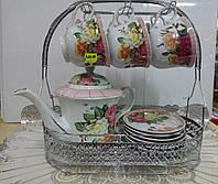 Набор чайный 6+6+чайник на подвеске