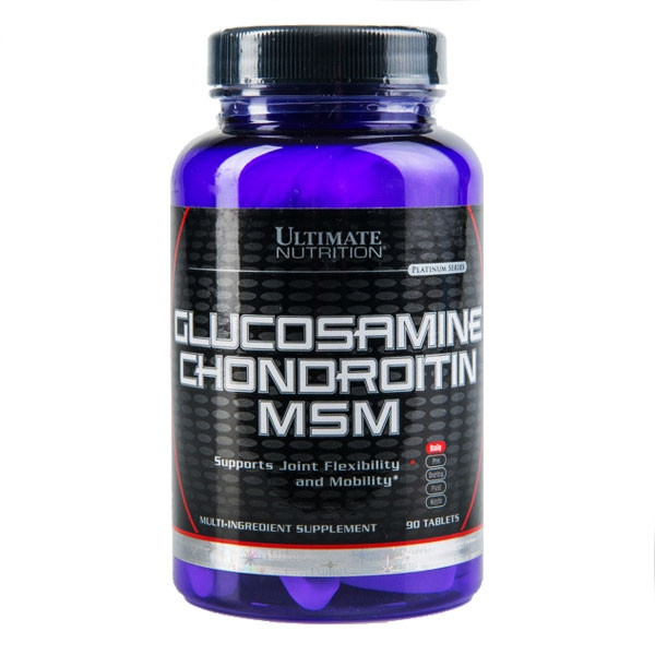 Хондропротектор Ultimate Glucosamine Chondroitine MSM 90 tabs