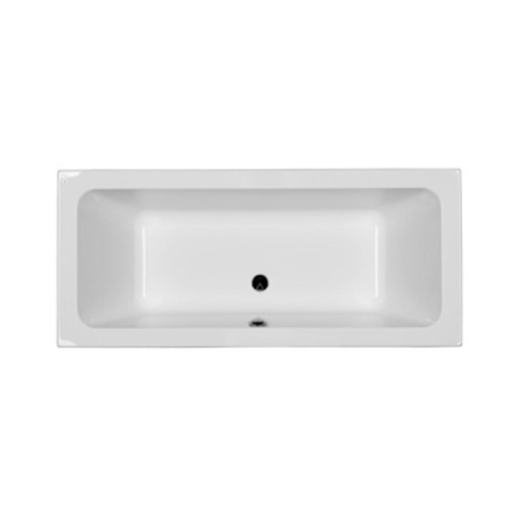 MODO прямоугольная ванна, 170*75 см, центральный слив, с ножками SN7