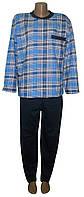 Пижама теплая трикотажная мужская 03207 Комби Начес Карман, р.р.46-60