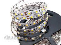 Светодиодная  LED лента  SMD 5050 60Led /м 14.4W/м  белый  холодный 12V  IP20 5м, фото 2