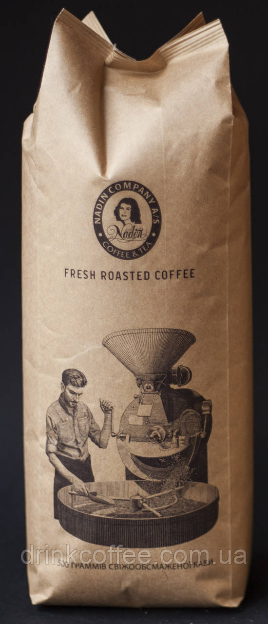 Кофе Колумбия Супремо, 100% Арабика, зерно, 0,5 кг