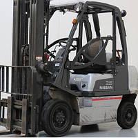 Складской вилочный погрузчик 2,5 тонны Nissan U1D2A25LQ б/у, фото 1