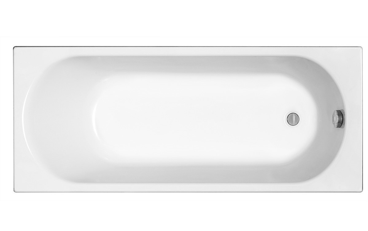 OPAL PLUS ванна 150х70 см, прямоугольная, без ножек