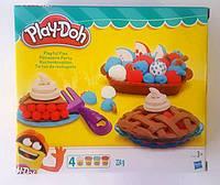 """Пластилин """"Play-Doh"""", 4цв., 224гр, в кор. 20*18*6см (4шт)(B3398)"""