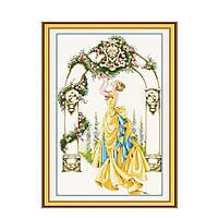"""Набор для вышивания крестиком """"Цветочная арка"""", в пак.45*68см(R051)"""