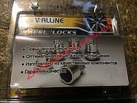 Секретки гайки колесные Таврия 1102 Славута 1103 Walline закрытые цинк 412444 Н2