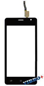 Тачскрин (сенсор) Nomi i4510 Beat M, черный