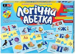 "Развивающие пазлы Danko toys "" Логічна абетка"", 66 пазлов (2621DT)"
