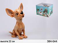 Статуэтка Lefard собака Тиффани 22 см 384-044