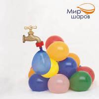 """Бомбочки для наполнения воды 06"""", металик, 10шт., ТОВ """"Мир шаров""""(169)"""
