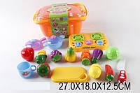 Игровой набор Кухня с овощами, в ящике 27х18х13 /36/(RZ980-5)