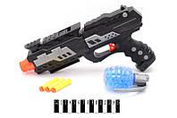 Пистолет с елевыми и поролон. пулями, комп. пуль, п/э 22*6,5*40 см /48-2/(YT8810-1)