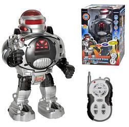 """Робот на радиоуправлении """"Защитник планеты"""" M 0465, ходит, говорит"""