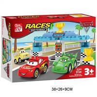 "Конструктор RACES 5291 ""Тачки"" 31дет.кор.38*9*26 /18/(5291)"