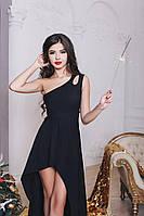 Вечернее ассиметричное платье 472 Марго