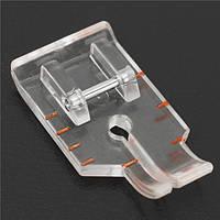 Прокладочная прижимная лапка для лоскутного шитья 1/4 дюйма для швейной машины с малым хвостовиком