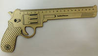"""Пистолет-линейка (дерев) """"Colt"""" 20 см."""