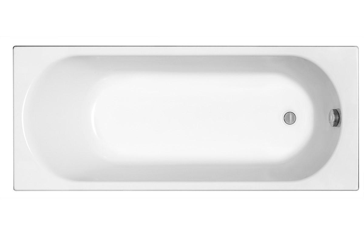 OPAL PLUS ванна 160х70 см, прямоугольная, без ножек