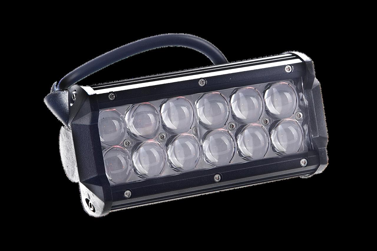 Led дополнительная фара Allpin 36 Вт линза 4D Spot