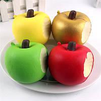 Squishy Bite Apple 8см Медленно растущая коллекция фруктов Декоративная игрушка для подарков