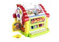 Развивающая музыкальная игрушка сортер Теремок MOLA (9196)