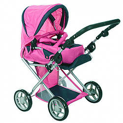 Игрушечная коляска-трансформер зима-лето для кукол с люлькой Sinergi Treyding Company Limited, разные цвета
