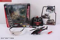 Р.У.Вертолет 343 с гироскопом,очками и USB кор.21*4*11 ш.к./24/(343)