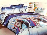 Подростковый комплект постельного белья Холодное сердце, ранфорс