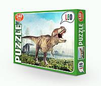 """Пазлы 068-10 (12шт) Лео, """"Динозавр"""", в кор-ке, 32-22-4см(068-10)"""